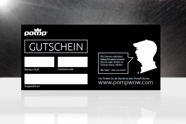 Pomp®-Gutschein